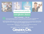 Gendex-DEL Exhibit Graphic